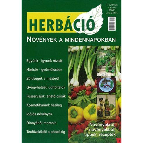 HERBÁCIÓ MAGAZIN 01. LAPSZÁM, digitális kiadás