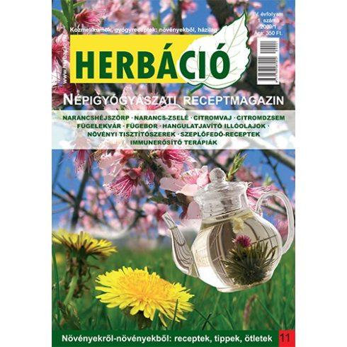 HERBÁCIÓ MAGAZIN 11. LAPSZÁM, digitális kiadás