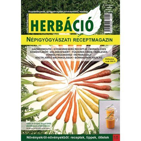 HERBÁCIÓ MAGAZIN 15. LAPSZÁM, digitális kiadás