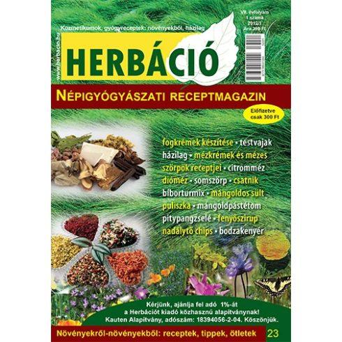 HERBÁCIÓ MAGAZIN 23. LAPSZÁM, digitális kiadás