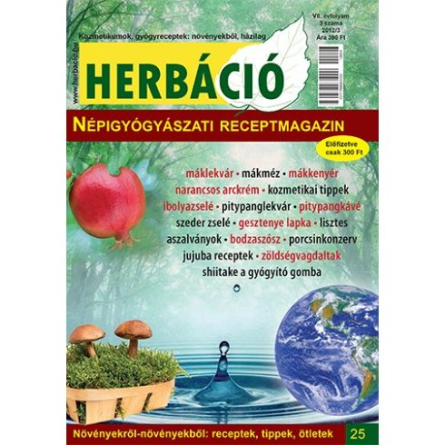 HERBÁCIÓ MAGAZIN 25. LAPSZÁM, digitális kiadás