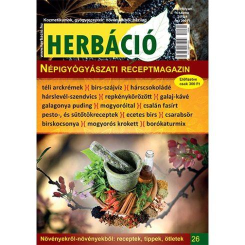 HERBÁCIÓ MAGAZIN 26. LAPSZÁM, digitális kiadás