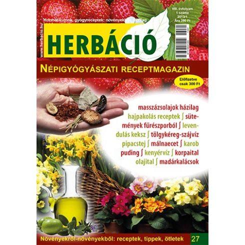 HERBÁCIÓ MAGAZIN 27. LAPSZÁM, digitális kiadás