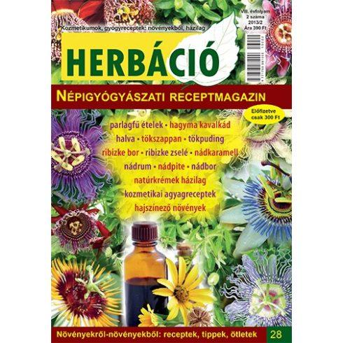 HERBÁCIÓ MAGAZIN 28. LAPSZÁM, digitális kiadás