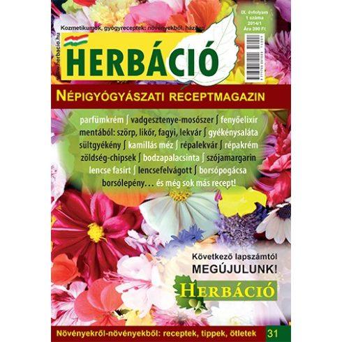 HERBÁCIÓ MAGAZIN 31. LAPSZÁM, digitális kiadás