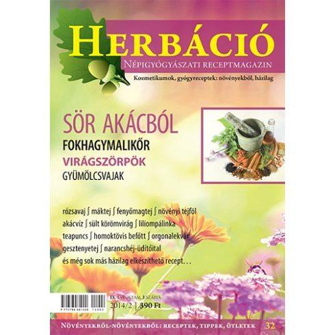 HERBÁCIÓ MAGAZIN 32. LAPSZÁM, digitális kiadás