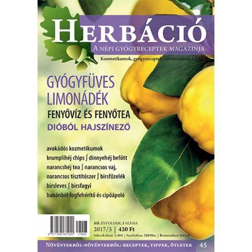 HERBÁCIÓ MAGAZIN 45. LAPSZÁM, digitális kiadás