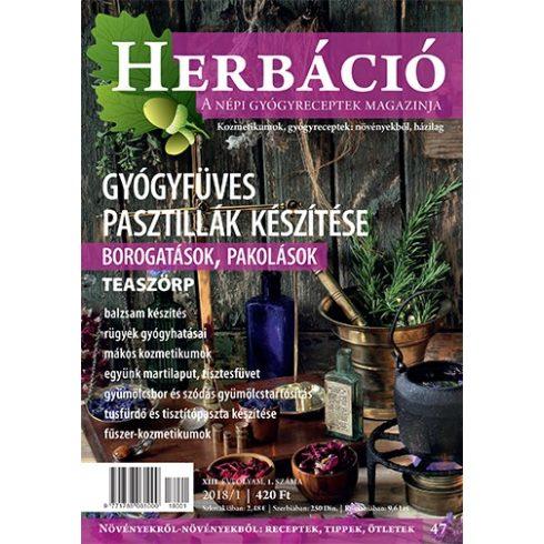 HERBÁCIÓ MAGAZIN 47. LAPSZÁM, digitális kiadás