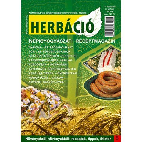 HERBÁCIÓ MAGAZIN 05. LAPSZÁM, digitális kiadás