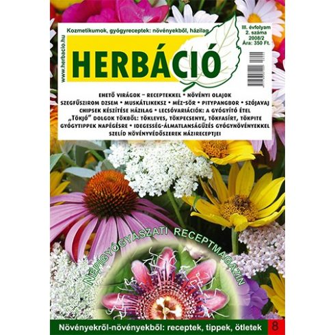 HERBÁCIÓ MAGAZIN 08. LAPSZÁM, digitális kiadás